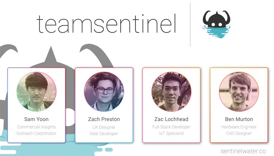 Team Sentinel's team photo