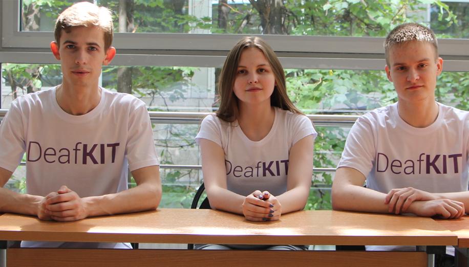 DeafKIT's team photo