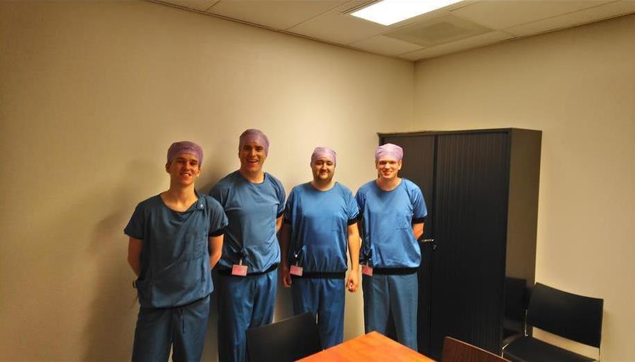 Amnix's team photo